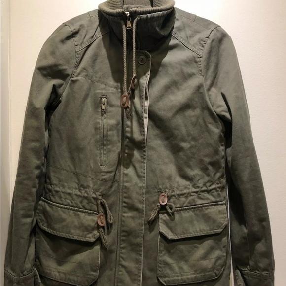 Zara two way winter utility jacket